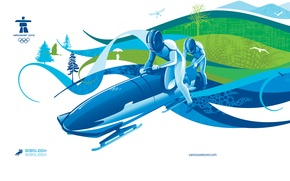 Picture Vancouver, Olympics 2010, bobsled