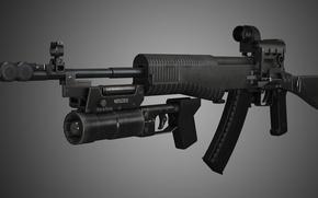 Picture assault rifle, An-94 assault rifle, Nikonov
