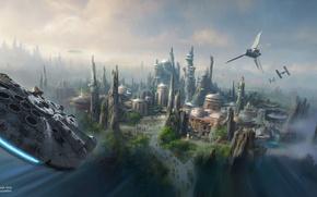 Picture Star Wars, art, artist concept