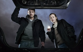 Picture truck, series, amc, holder, the killing, flashlight, linden