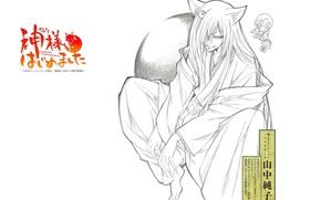 Picture smile, figure, characters, kimono, ears, art, the demon-Fox, tomoe, nanami momozono, kamisaa the hajimemashita, julietta …