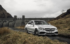 Picture Mercedes, Mercedes, AMG, AMG, UK-spec, 2015, W205, C 63 S