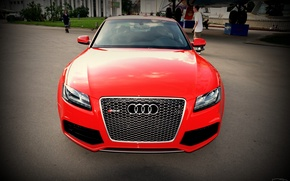 Picture Audi, red, RS5