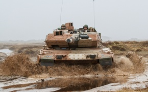 Picture weapons, tank, Danish Army