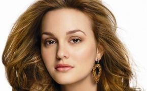 Picture girl, actress, Leighton Meester