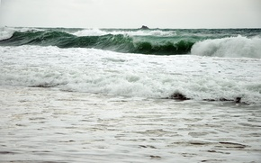 Picture sea, wave, landscape, storm, tropics, the ocean, element, tropical