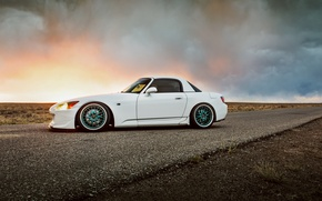 Picture car, road, honda s2000, lunchbox photoworks