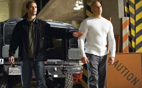 Picture Paul Walker, Brian O'Conner, VIN Diesel, Vin Diesel, Paul Walker, The fast and the furious ...