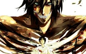 Picture anime, art, Art, anime, shingeki no kyojin, eren jaeger, attack of the giants, the invasion …