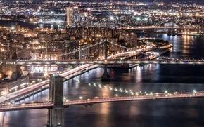 Picture Brooklyn, Manhattan, Williamsburg Bridges