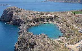 Picture Bay, Greece, Lindos, Rhodes
