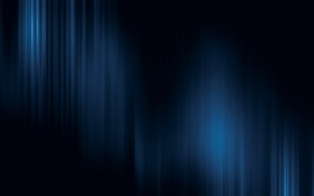 Picture light, strips, blue, Black background