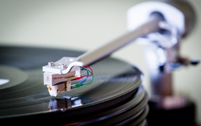 Picture music, player, record