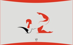 Picture vector, red, girl, digital, design, art, artwork, radic, zelko, bfvrp, transform
