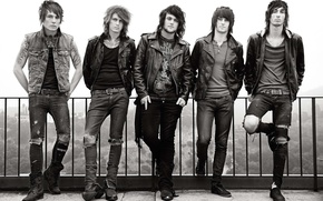 Picture music, guys, musicians, Asking Alexandria