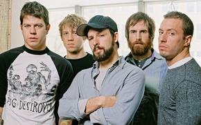 Picture The Dillinger Escape Plan, mathcore, TDEP
