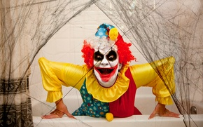 Picture holiday, clown, Halloween