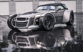 Picture reflection, puddle, GTO, garages, 2015, Donkervoort