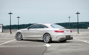 Picture Mercedes Benz, AMG, coupe, S63, voltage design