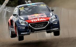 Picture Jump, Peugeot, Peugeot, 208, WorldRX, Timmy Hansen