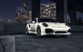 Picture 911, Porsche, Front, Vorsteiner, White, Turbo, Edition, V-RT