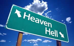 Picture the way, Paradise, index, choice, Heaven or Hell