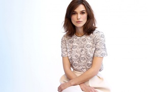 Picture girl, actress, Keira Knightley, photoshoot