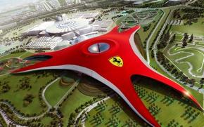 Wallpaper Dubai, Ferrari World, future