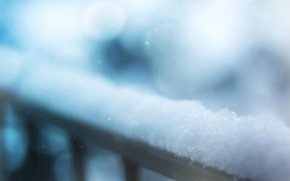 Picture winter, macro, snow, photo, background, Wallpaper