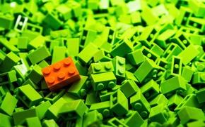 Picture carrots, LEGO, Peas