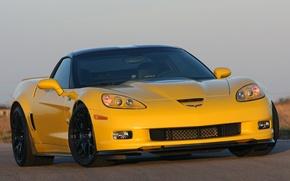 Picture Corvette, Hennessey, ZR700, (C6)