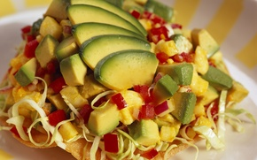 Picture food, pepper, fruit, vegetables, cabbage, delicious, avocado