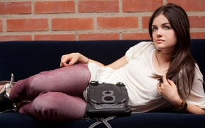 Picture sweetheart, actress, brunette, singer, Lucy Hale