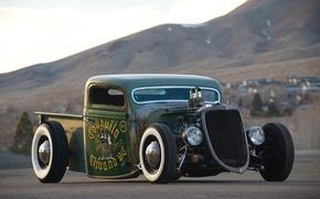 Picture car, retro, Hotrod
