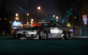 Picture Nissan, drift, tuning, race, street, racing, 240sx, stance, by Hugo Silva, streetrace
