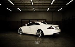 Wallpaper tuning, 360 forged, mercedes cls 63