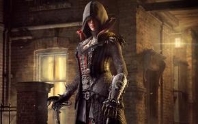 Wallpaper Blade, Assassins Creed: Syndicate, Street, Hood, Assassins Creed, Light, Evie, Evie Fry, Ubisoft Quebec, Syndicate, ...