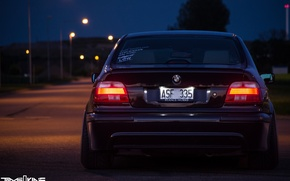 Picture BMW, E39, STANCE