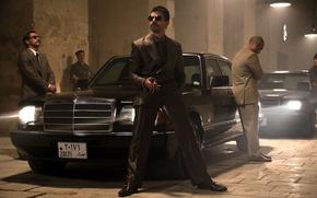 Picture security, Mercedes, benz, double devil