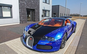 Picture machine, Bugatti, Machine, orange salon, Colorful