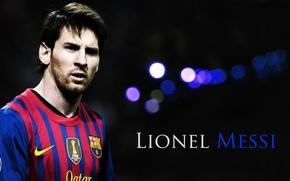 Picture wallpaper, sport, football, Lionel Messi, player, FC Barcelona