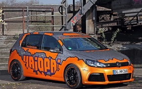Picture Volkswagen, Racing, Golf, 2014, Cam, Shaft, Haiopai