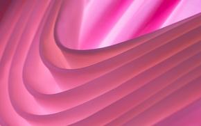 Wallpaper light, line, color, the volume, folds, layer