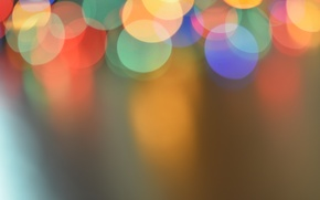 Picture background, holiday, gold, light bulb, bokeh