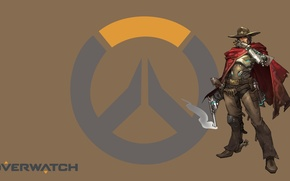 Picture Blizzard, Wallpaper, Game, Overwatch, McCree