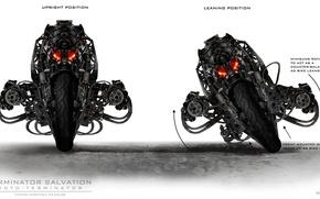 Picture Robot, Terminator, Terminator, Moto, Cyborg, Salvation