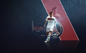 Picture wallpaper, sport, football, player, Paris Saint-Germain, Kevin Gameiro
