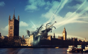Picture England, London, treatment, Thames, Big Ben
