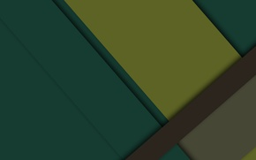 Picture line, yellow, green, geometry, brown, design, color, material, flat