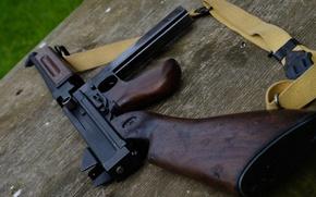 Wallpaper weapons, strap, The gun, Thompson